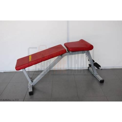 Ghế tập bụng điều chỉnh lưng ghế 601004