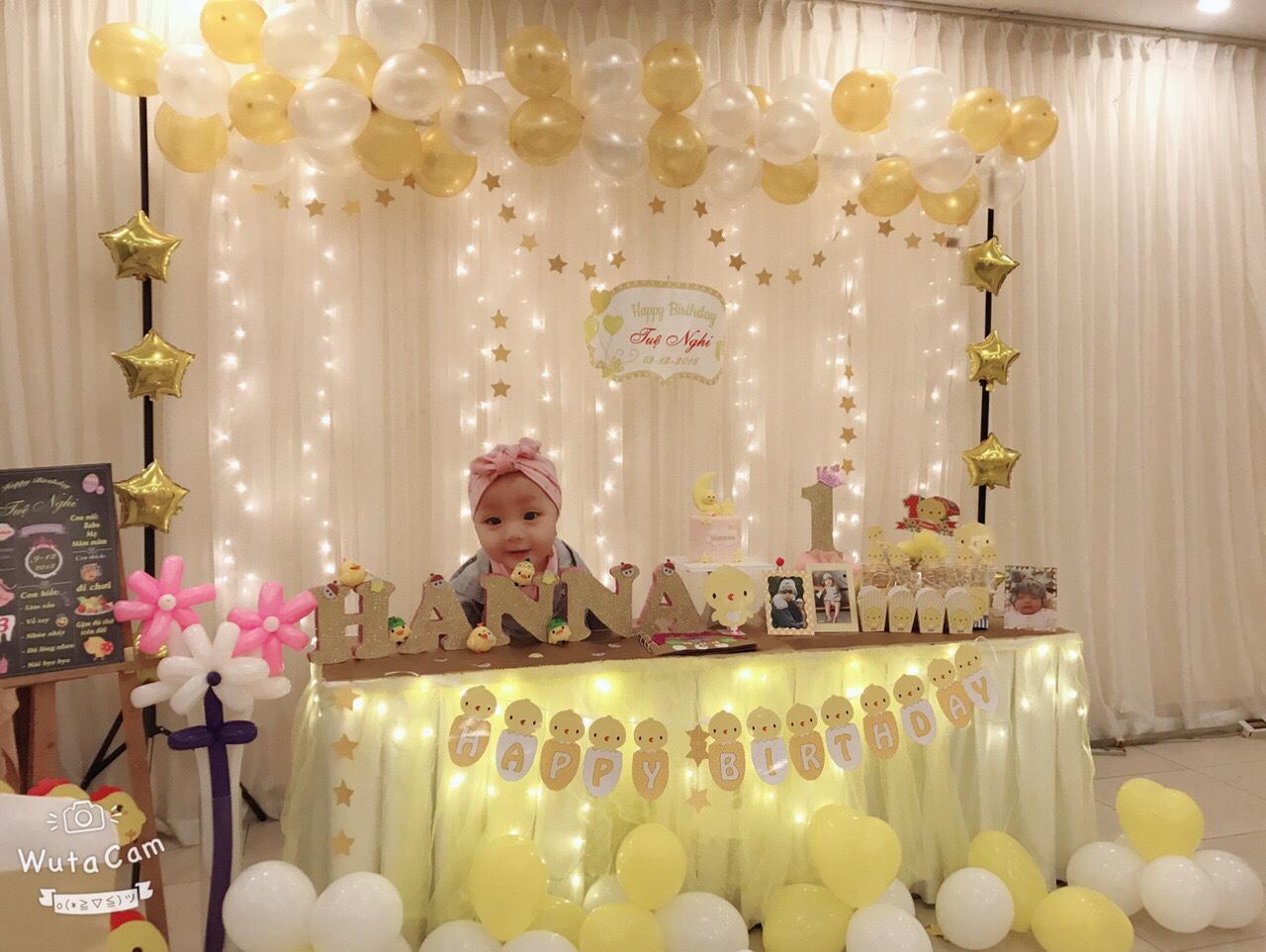 Cách tự trang trí sinh nhật cho bé tại nhà xinh lung linh