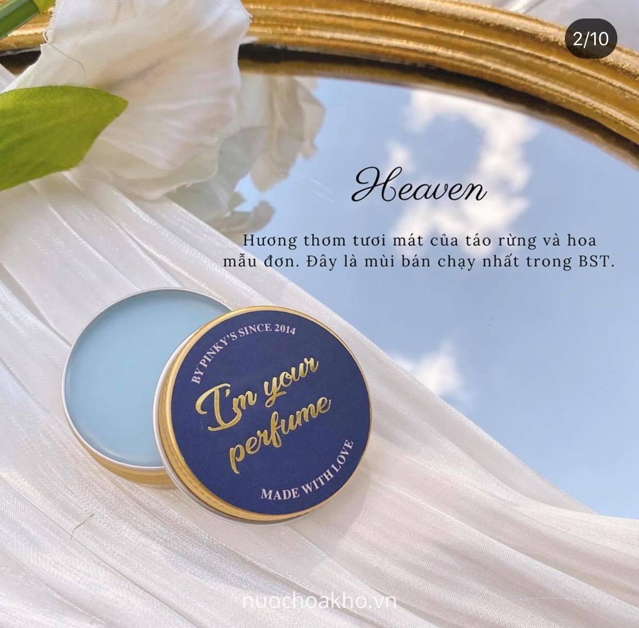 Review nước hoa khô Heaven