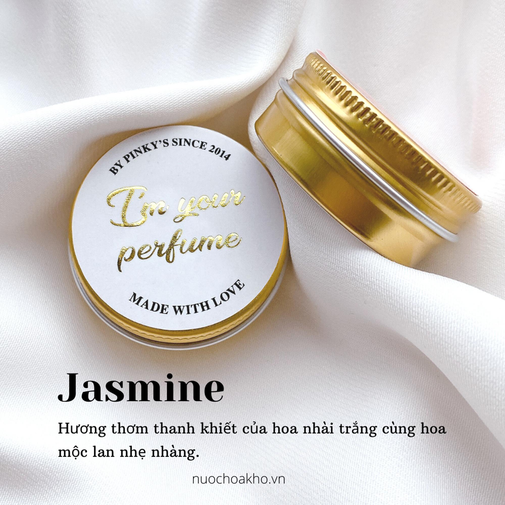 Nước hoa khô dạng sáp PINKY'S mùi Jasmine